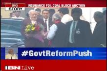 Cabinet approves ordinances for coal auction, insurance reforms