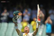 Warner pays tribute to 'friend' Hughes with a classy ton in Adelaide