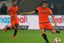 Del Piero scores maiden ISL goal as Delhi Dynamos hold Chennaiyin FC 2-2