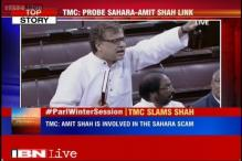 TMC MPs demand CBI probe over alleged links of Amit Shah with Sahara group