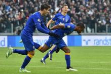 Juventus' lead over Roma in Serie A cut to one point