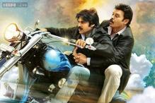 'Gopala Gopala' motion poster: Pawan Kalyan and Venkatesh ride a celestial motorcycle this time