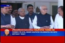 Modi wishes Vajpayee as government celebrates 'Good Governance Day' on the former PM's 90th birthday