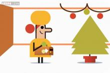 'Tis the season! Google highlights travel during the holiday season in its third Happy Holidays doodle