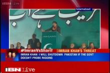 Imran Khan threatens to shutdown Pakistan if vote rigging charges against PM Sharif not probed