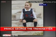 Royal heir Prince George's footwear, sweater the latest fashion product