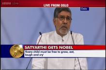 I represent the sound of silence and cry of innocence, says Nobel Peace Prize winner Satyarthi