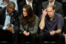 Snapshot: Prince William, wife Kate Middleton meet Beyonce Knowles and Jay Z at NBA game
