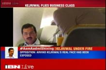 Kejriwal flies in business class to Dubai, faces flak from opposition parties