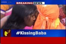 Hyderabad's 'kissing baba' arrested, referred to mental hospital