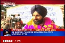 Drug racket case: Punjab Revenue Minister Bikram Singh Majithia at ED office for questioning