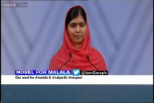 I am those 66 million girls who are out of school, says Nobel Peace Prize winner Malala Yousafzai