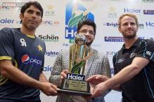 Pakistan, New Zealand build for cricket World Cup with ODI series