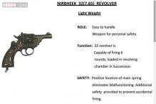 Built as a tribute to Delhi gangrape braveheart, Nirbheek revolver gives confidence to women
