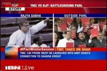 TMC MPs target BJP's Amit Shah over his alleged links with Sahara group