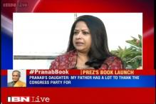 My father will never drop a bombshell, says Pranab Mukherjee's daughter on his book
