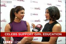 Priyanka Chopra, Freida Pinto supports campaign to promote girls' education