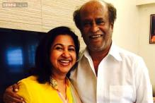 Snapshot: Actress Radikaa Sarathkumar takes her kids to meet Rajinikanth; shares experience on Twitter