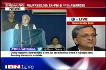 Bharat Ratna for Madan Mohan Malaviya a mistake: Ramchandra Guha