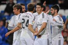 Real Madrid rout Cornella in Copa del Rey