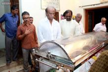 K Balachander cremated; Rajinikanth, M Karunanidhi pay last respects to the legendary director