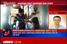 Haryana government suspends driver, conductor of bus on which two siblings were harassed