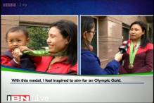 Sarita Devi finally receives her Asian Games bronze medal