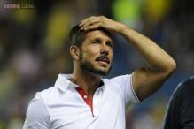 Simeone urges fans to keep calm before 'high risk' Cup game