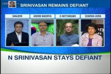 All allegations levelled against me are incorrect, says N Srinivasan