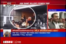 BJP leader says gun culture should be banned as PDP leader fires Ak47