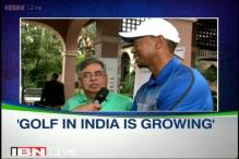 Golf in India is growing, says Tiger Woods
