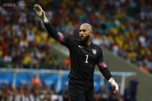 Everton goalkeeper Tim Howard out for up to six weeks
