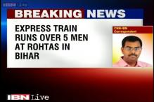 Bihar: Ajmer-Sealdah Express train runs over 5 men in Rohtas