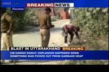 Uttarakhand: Bomb explodes outside school in Roorkee, 1 dead