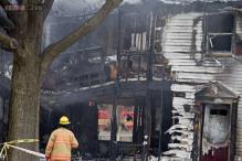 US: Plane crashes into a house in Maryland, kills six
