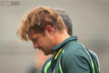 Shane Watson forced to leave Australia training by bouncer blow