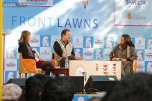 JLF 2015, Day 3: Amish Tripathi, Shashi Tharoor see an overwhelming crowd at their sessions