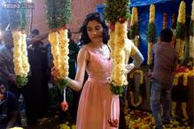 Snapshot: Actress Adah Sharma posts photo from the sets of Puneeth Rajkumar's 'Rana Vikrama'