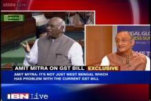 Watch: Centre must recall EGoM, amend GST Bill, says Amit Mitra