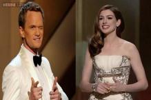 Do the opposite of what I did, and you'll be fine: Anne Hathaway advises Neil Patrick Harris on how to host the Oscars