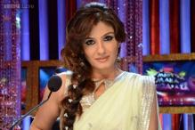 Raveena Tandon shoots for Onir's 'Shab' in Delhi