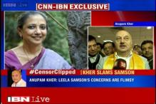 Leela Samson technically wrong; she has created a political row, says Anupam Kher