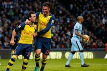 EPL: Cazorla fires Arsenal to solid win over champions Manchester City