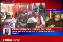 MIM's Owaisi defends his remarks, says not threatening one to convert to Islam