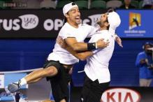 Fabio Fognini, Simone Bolelli win Men's Doubles at Australian Open