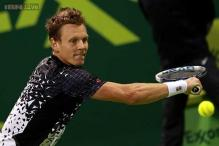 Tomas Berdych to play Ferrer in Qatar Open final