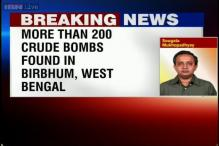 West Bengal: More than 200 crude bombs found in Birbhum, two arrested