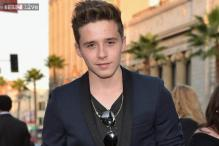Brooklyn Beckham models for Polish fashion label