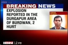 2 people injured in a crude bomb blast in Burdwan, West Bengal