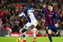 Espanyol beat Valencia, Malaga oust Levante in Copa del Rey